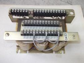 Transzformátor 3~, 200-550VAC, sok fesz. tartomány Kowa Denso Ltd. A80L-0001-0453-01 1,5kVA