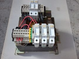 Transzformátor + Biztosítékok, 1~ 230/400VAC, 2x115 VAC Legrand 42628 1600VA, ABT7PDU160G