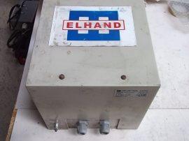 Transzformátor 1 fázisú, 220VAC 12,2A, 120VAC 20,8A, ELHAND Poland ET1o-2,5 2500VA