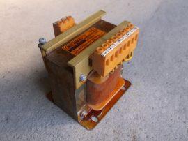 Transzformátor, 1~, be:230/400VAC, ki:12/2x19/20VAC, 200VA, Braga 10387, T40B