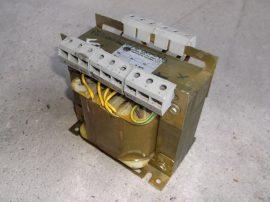 Transzformátor, 1~, be:220/380/415/440/460/480VAC, ki:18/20/110/220VAC, 500VA, Eletrom Maffi