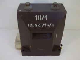 Áramváltó nagyfeszültségű, 10/1 A, 12kV 50 Hz, Transzvill VBKM AM 12/a