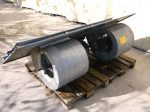 Ventilátor egység, 2 ventilátoros, 400V 22A, 11kW, 1460rpm, Magnetek 2VZ160M4, Nicotra BDC381-381, 880549