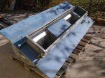 Ventilátor egység, 2 ventilátoros, 400V 22A, 11kW, 1460rpm, Magnetek 2VZ160M4, Nicotra AT 15/15 S 25°, 880550
