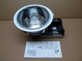 Álmennyezetbe építhető, kompakt fénycsöves lámpatest, 215mm átmérő, TC-D 26W G24D-3, Sylvania Concord Lumiance Insaver 200 HP 3025520