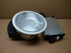 Álmennyezetbe építhető, kompakt fénycsöves lámpatest, 215mm átmérő, 2x TC-DEL 18W G24-q2, Sylvania Concord Lumiance Insaver 200 3025640 XYZ