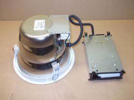 Álmennyezetbe építhető, kompakt fénycsöves lámpatest, Sylvania Lumiance, 3025750, Insaver 255 HP, 250mm átmérő, 2x 26W TC-D, G24-d3, xyz